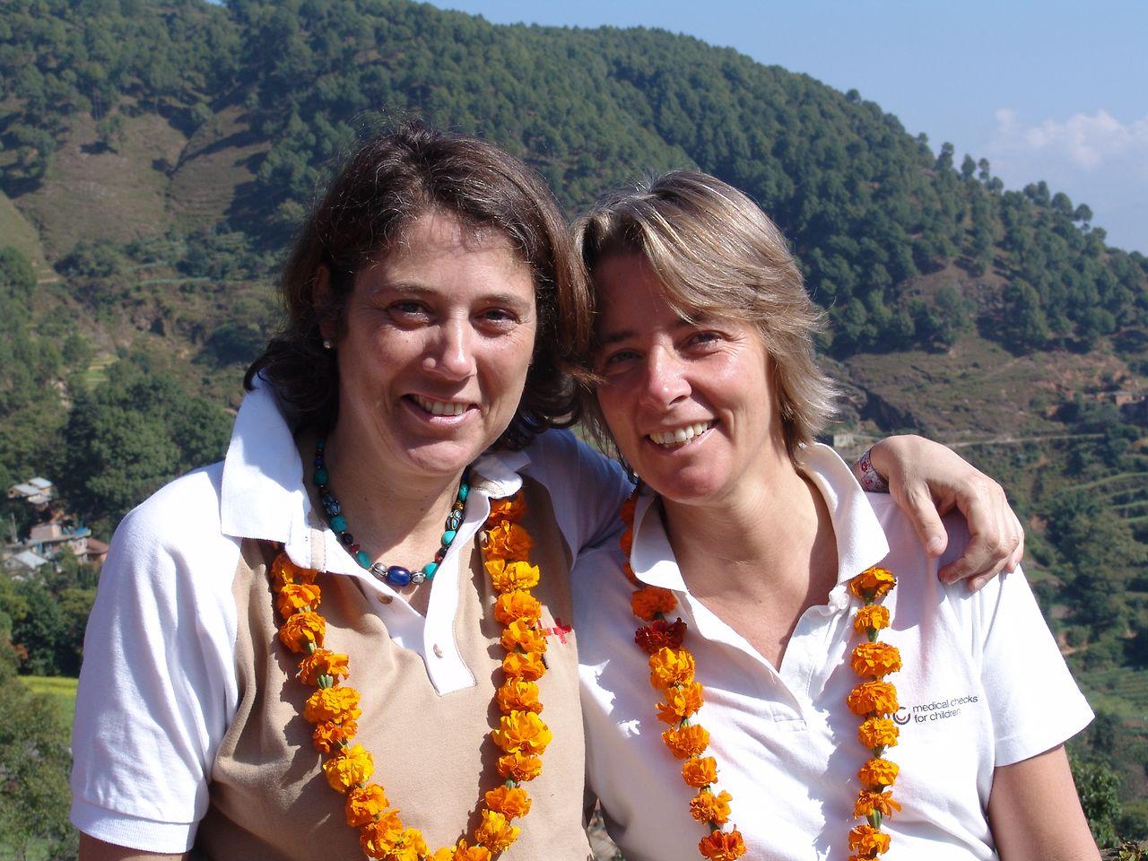 Miteinander im Team: Susanne Volkmann und Dr. Ines von Rosenstiel.