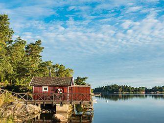 Die traditionellen Sommerhäuschen sind Rückzugorte für die Schweden. Sie werden von Generation zu Generation weitervererbt.