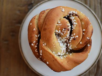 Golden brown, buttery, sugary, spicy--who doesn't feel relaxed when they think of biting into a warm kanelbullar?