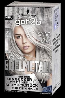 got2b Edelmetall M71 Pearl Metallic Silber