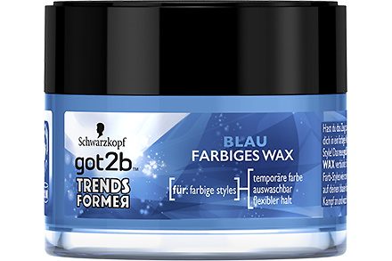 got2b Trendsformer Blau Farbiges Wax