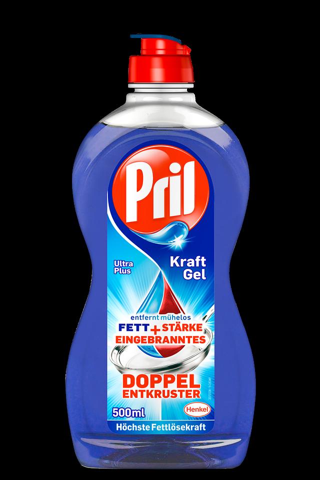 Pril Kraft-Gel Ultra Plus - Testsieger im Geschirrspülmittel-Test von Stiftung Warentest