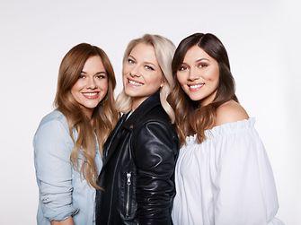 Gliss Kur Influencer Yvonne Pferrer, Valentina Pahde, Anna Maria Damm