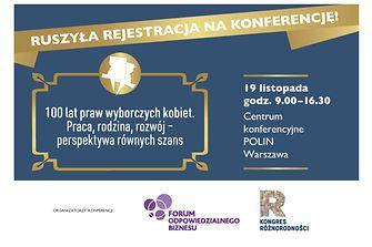 100 lat praw wyborczych kobiet – rusza rejestracja