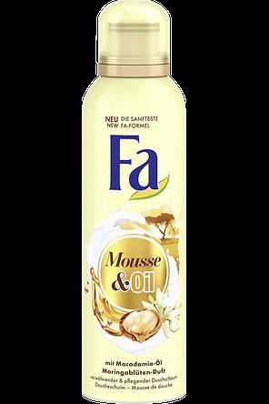 Fa Mousse & Oil Duschschaum mit Macadamia-Öl und Moringablüten-Duft