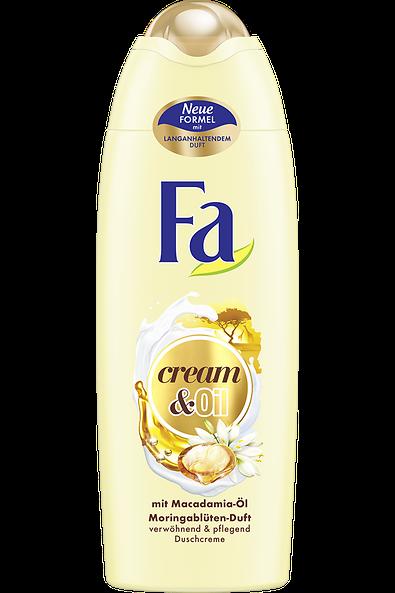 Fa Cream & Oil Macadamia-Öl mit Macadamia-Öl und Moringablüten-Duft