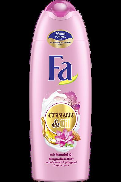 Fa Cream & Oil Mandel-Öl mit Mandel-Öl und Magnolien-Duft