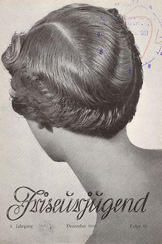 "Cover der Zeitschrift ""Friseurjugend"", Dezember 1950"