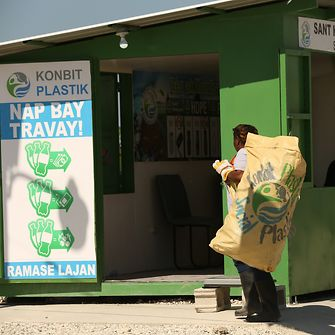Since the start of the partnership with Henkel three Plastic Bank collection centers were opened in Haiti.