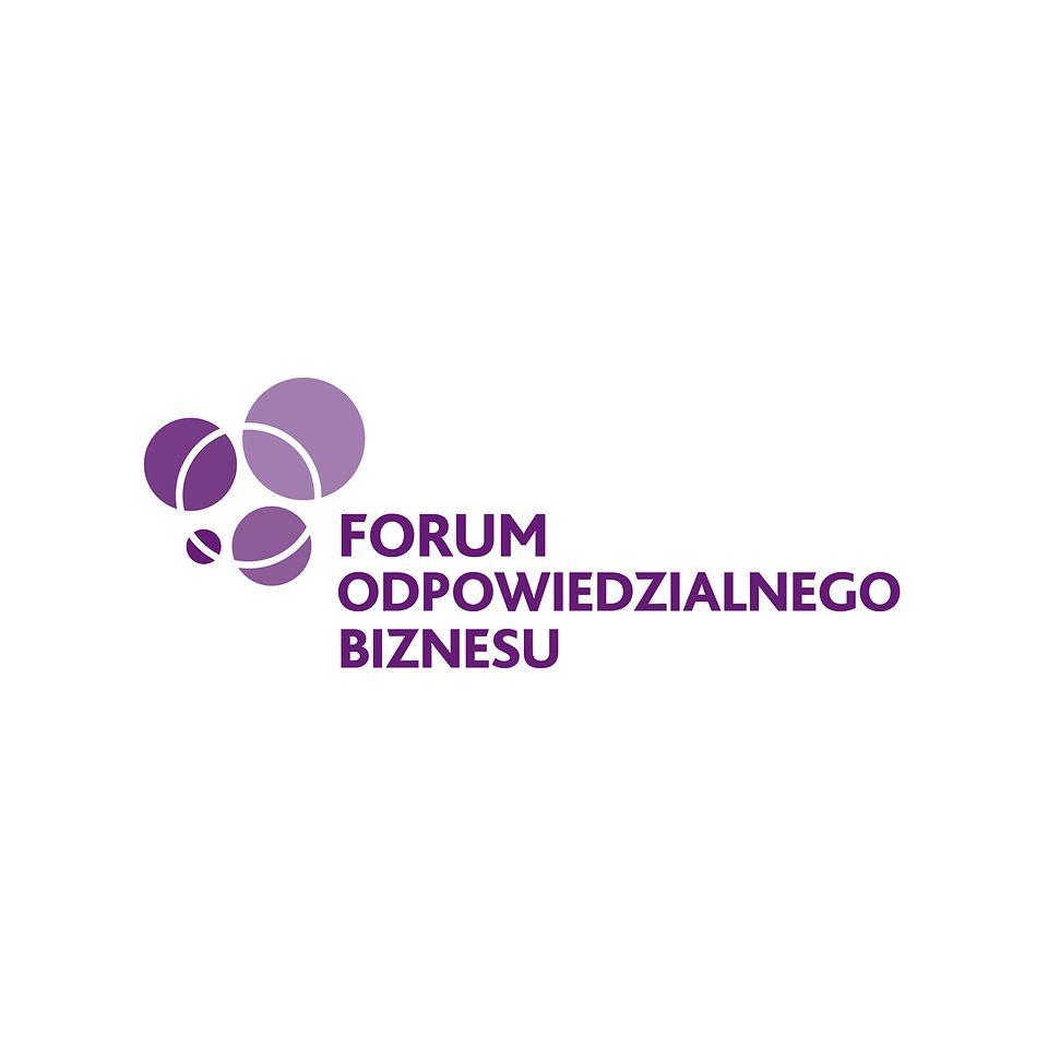 Logo Forum Odpowiedzialnego Biznesu