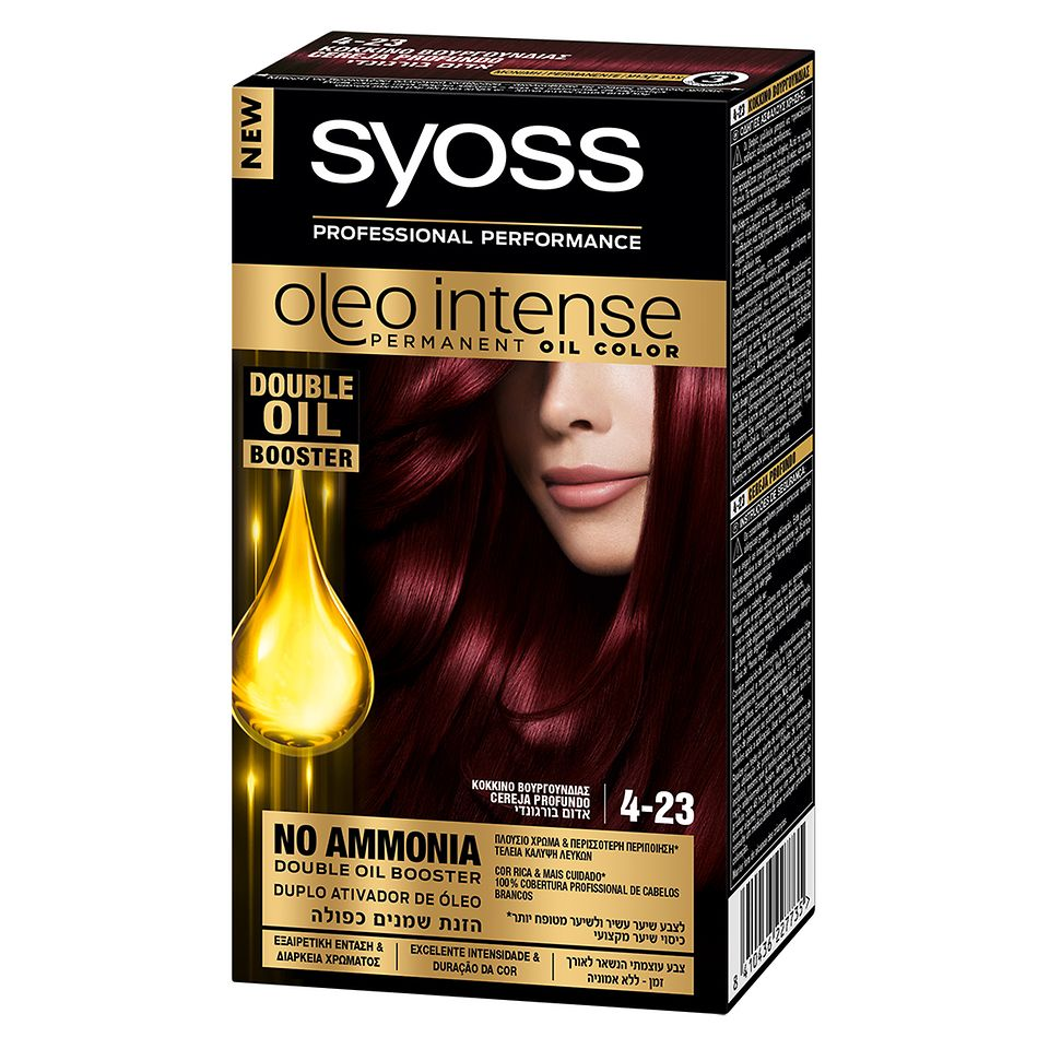Syoss Oleo Intense 4.23 Cereja Profundo