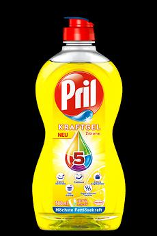 Das neue Pril 5 Kraft-Gel Zitrone