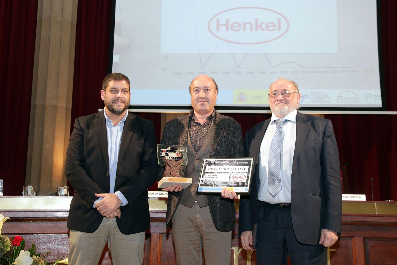 Henkel ha si galardonada en la IX edición de los Premios Atlante en la categoría de Medidas preventivas aplicadas dentro de la modalidad de Gran Empresa.