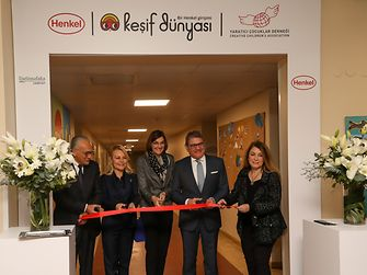 "Henkel opened a permanent ""Forscherwelt"" center at the campus of Darüşşafaka school in Istanbul, taking the initiative to the next level."