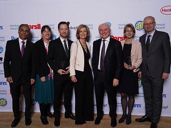 Best Supply Performance / Symrise (runner-up): Venkat Iyer, Anja Finke, Stefan Ebeling, Anne Cabotin, Bertrand Conquéret, Gabriele Vielhaber, Thomas Dressler