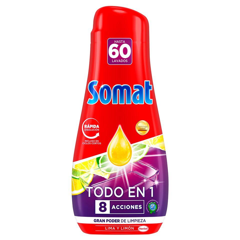 Somat Gel Todo en 1 60D Lima y Limón