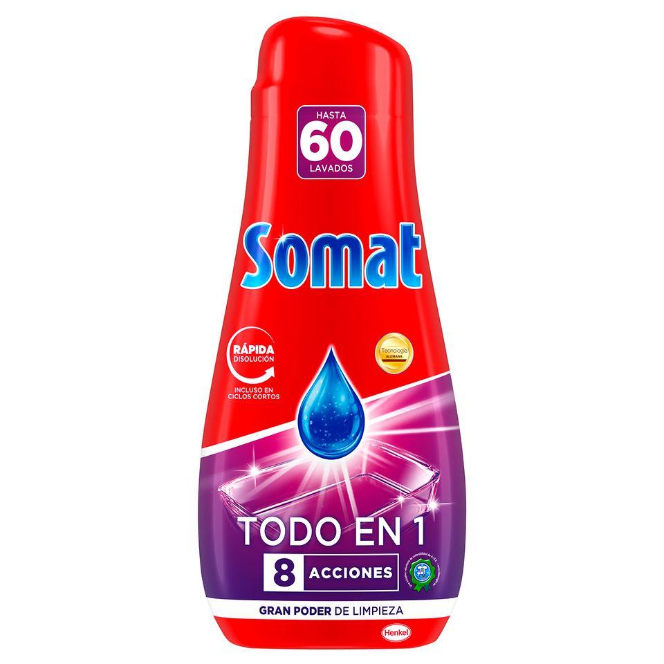 Somat Gel Todo en 1 60D Azul