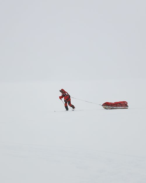 Gábor Rakonczay, the first Hungarian to have reached the South Pole