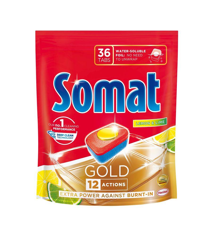 Multifunkční tablety Somat GOLD