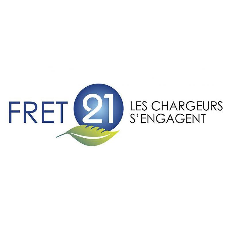 Logo FRET 21 - les chargeurs s'engagent