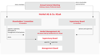 Structure of Henkel AG & Co. KGaA