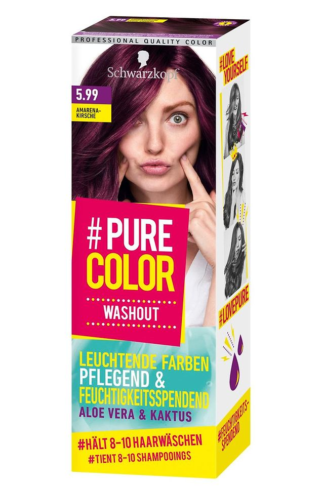 #Pure Color Washout Amarena-Kirsche