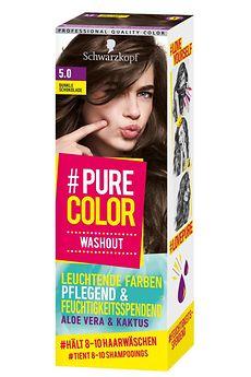 #Pure Color Washout Dunkle Schokolade