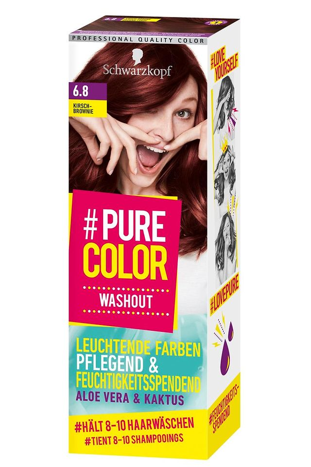 #Pure Color Washout Kirsch-Brownie