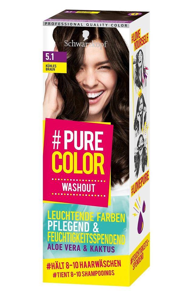 #Pure Color Washout Kühles Braun