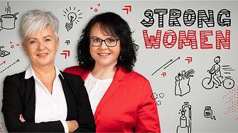 Strong women: Beata Bogárová and Zuzana Majerčáková.
