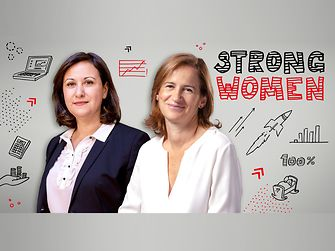 Strong women: Amélie Vidal-Simi and Soulef Karoui