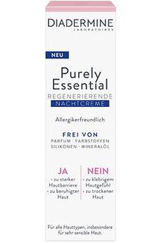 Diadermine Purely Essential Regenerierende Nachtcreme