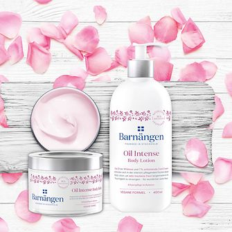 Barnängen Oil Intense Body Lotion und Oil Intense Body Balm