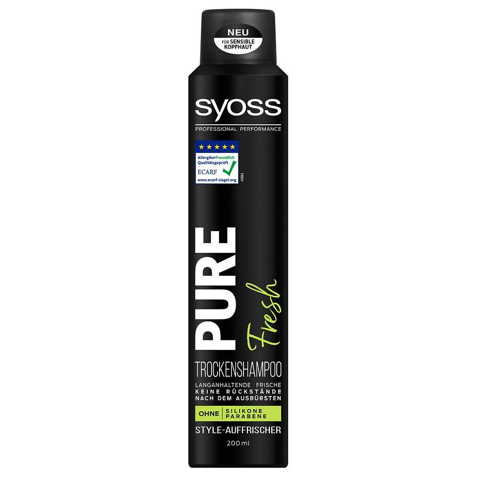 Syoss Pure Trockenshampoo Fresh