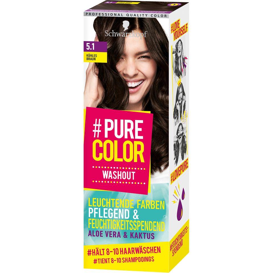 Pure Color Washout 5.1 Kühles Braun