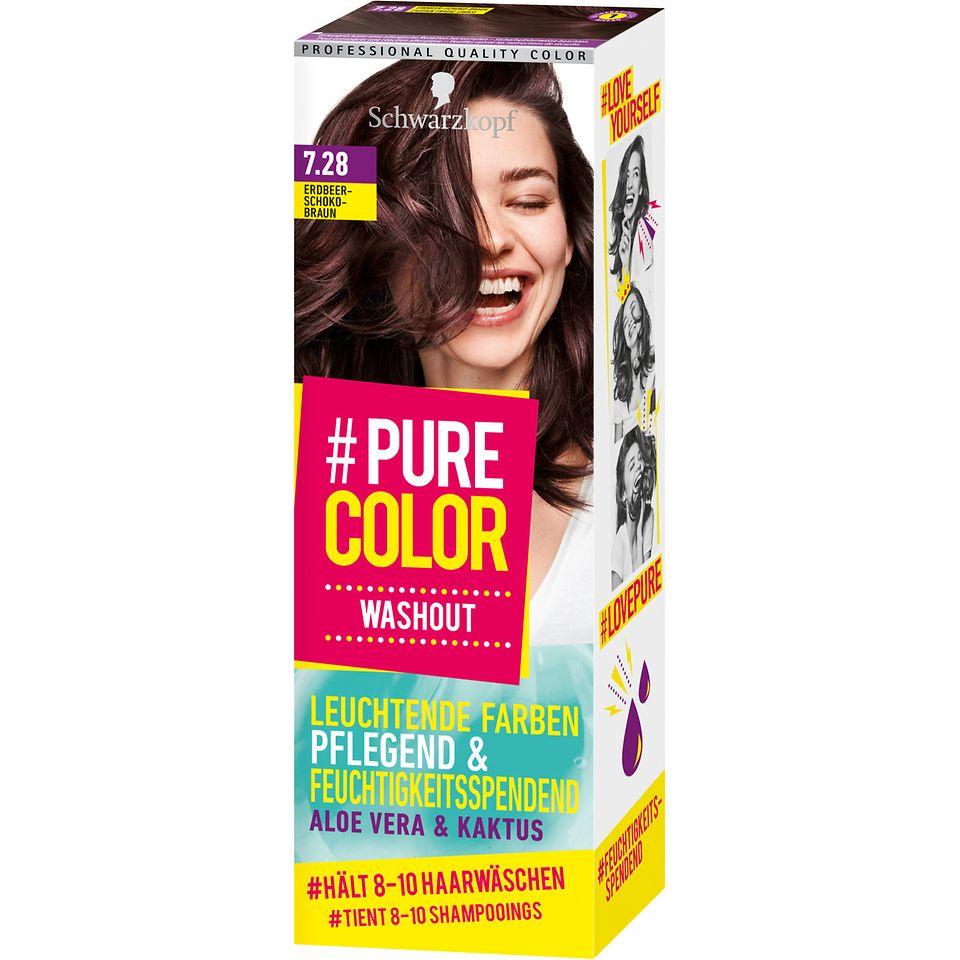 Pure Color Washout 7.28 Erdbeer Schoko-Braun