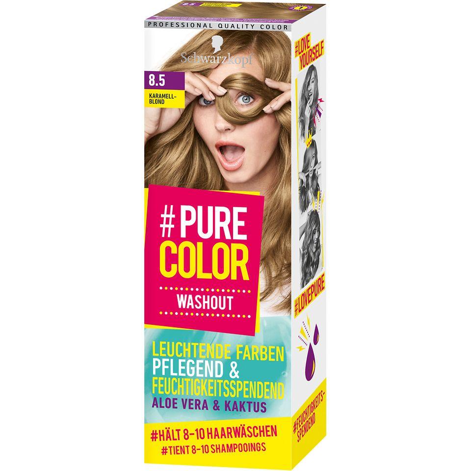 Pure Color Washout 8.5 Karamellblond