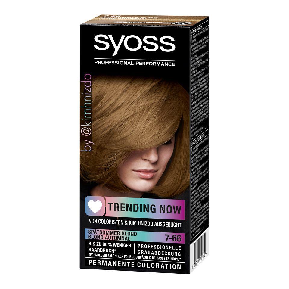 Syoss Trending Now Spätsommer Blond