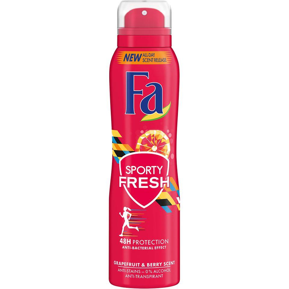 Fa Sporty Fresh Aerospray Anti-Transpirant