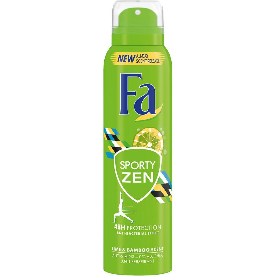 Fa Sporty Zen Aerospray Anti-Transpirant