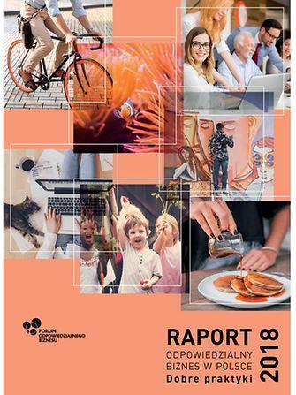 """Raport """"Odpowiedzialny biznes w Polsce. Dobre praktyki 2018"""""""