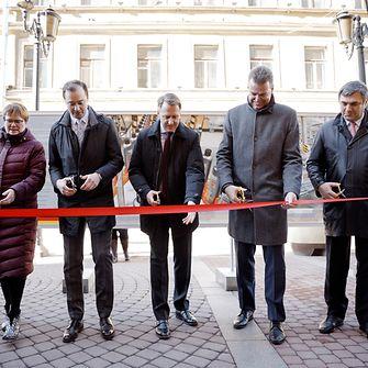 торжественная церемония открытия фотовыставки «Мастера России: сделано по-немецки»