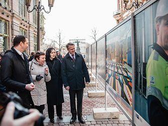 церемония открытия фотовыставки «Мастера России: сделано по-немецки»