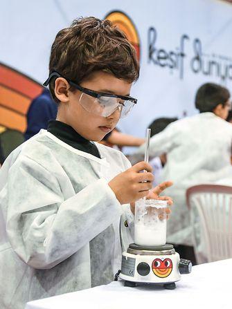 Science Expo 2019'da Keşif Dünyası