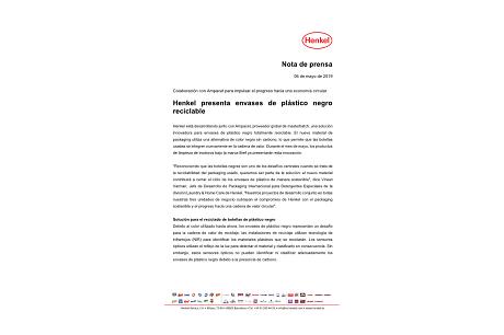 2019-05-06-Henkel presenta envases de plástico negro reciclable.pdf.pdfPreviewImage