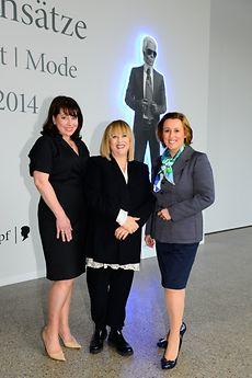 Ruth Neri (DKMS LIFE), Patricia Riekel (Chefredakteurin BUNTE), Marie-Eve Schröder (Henkel)