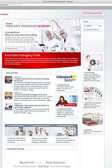 Die Food Safe Packaging Website