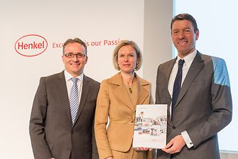 February 20, 2014 | Annual Results Press Conference: Carsten Knobel, Kathrin Menges, Kasper Rorsted