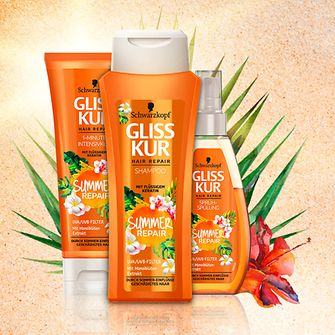 Gliss Kur Summer Repair Limited Edition