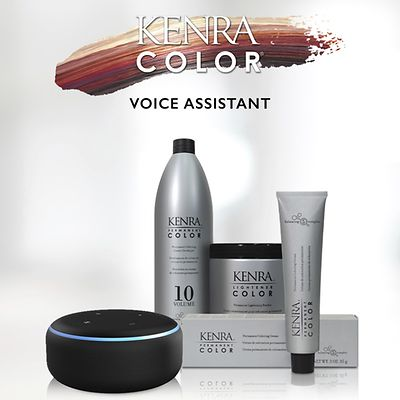 The Kenra Color Skill, available now on the Amazon Alexa Skills Store, provides hands-free education for stylists to better serve their customers.